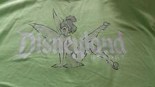 2XL Tinkerbell Disneyland Lime Green Tee Shirt NWT Disney Parks