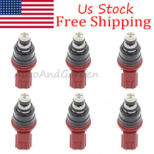6x-16600-53J00-Fuel-Injector-For-Nissan-300ZX-Jecs-3-0L-2-4L-V6-A46-00-842-18114