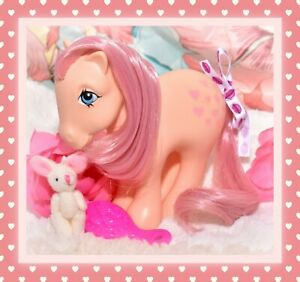 ❤️My Little Pony MLP G1 Vtg 1982 MACAU PEACHY NIRVANA Variant Hearts Euro❤️