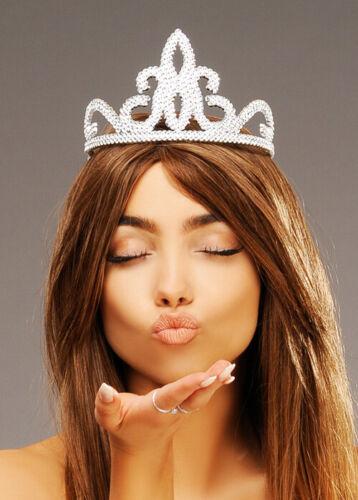 Silver Plastic Fairy Princess Tiara