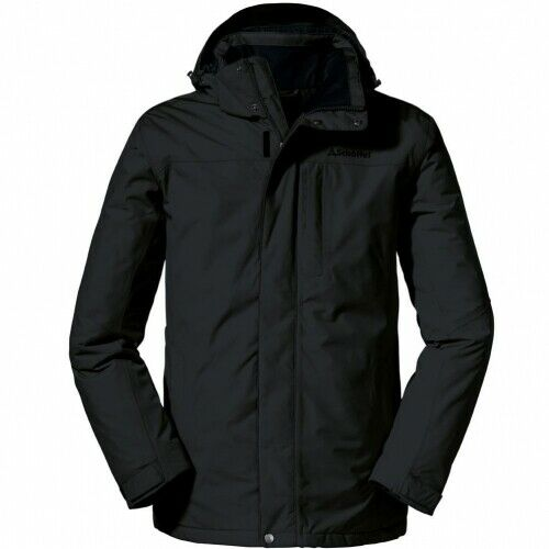 Schöffel Belfast2 Jacket black Winterjacke Herren schwarz