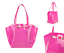 Tote Ikon Bow Ted Azra Bright Trapeze Baker Shoppers Ladies Pink Nieuw Bag Handtas RqrxzrIw