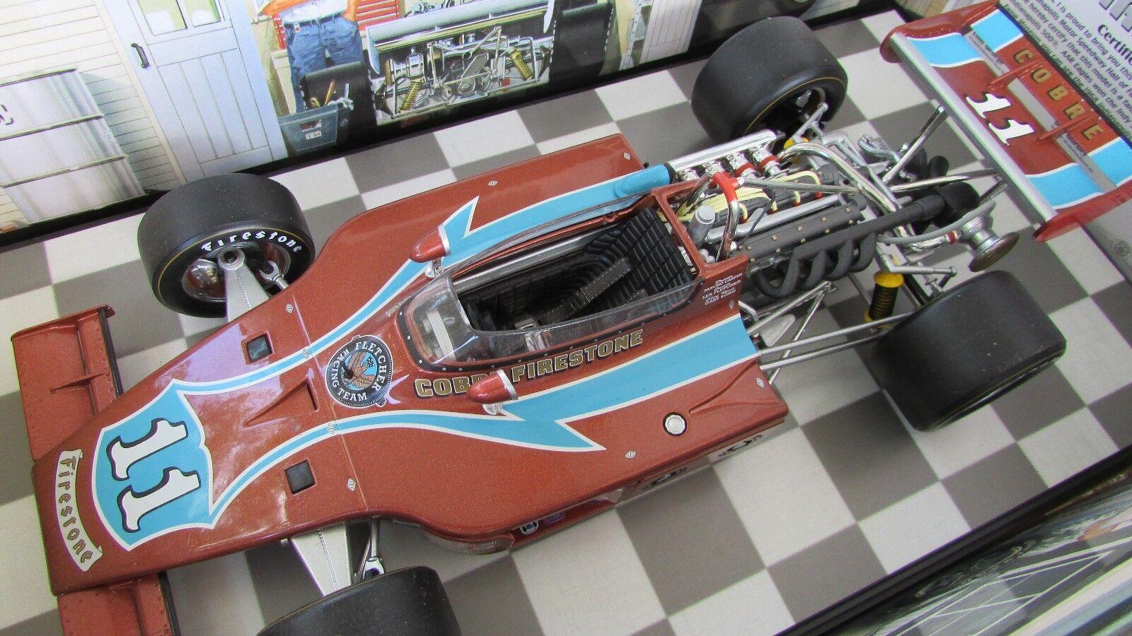 1 18 Carrusel 1 Pancho Carter Offy Coche Carreras Aar Gurney Eagle 1974 Indy