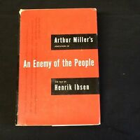 Arthur Miller Enemy Of The People Signed Autograph 1st Edition Hardback Book