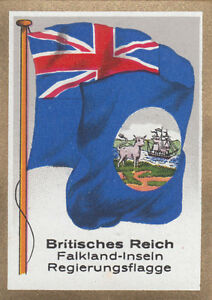 DRAPEAU-British-Empire-britannique-Falkland-Government-gouvernement-FLAG-CARD-30