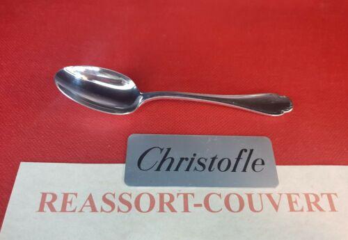 CUILLÈRE CAFE CHRISTOFLE FRANCE POMPADOUR 13.5 CM COMME NEUVE  MÉTAL ARGENTÉ