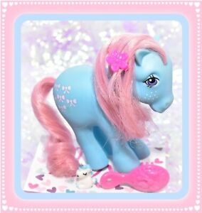 My-Little-Pony-MLP-G1-Vtg-BOWTIE-European-RARE-Euro-UK-Collectors-Pose