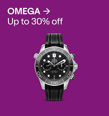 OMEGA up to 30% off