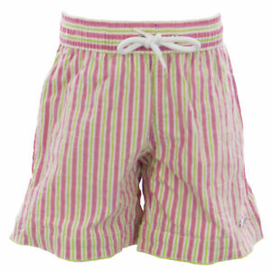 Trunks Nuovo Tronco 24606246655 Sz di Naila verde rosa 6y Boy's 85 B124 Swim di Candistripe B1qw84BrR