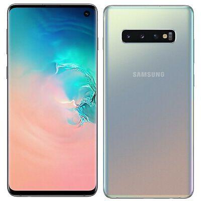 "Samsung Galaxy S10 Prism Silver SM-G973F/DS Dual Sim (FACTORY UNLOCKED) 6.1"""