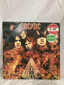 AC/DC Highway To Hell 1979 Vinyl Record K 50 628 | eBay
