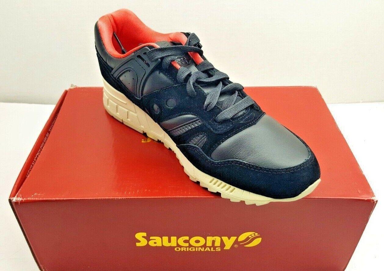 Saucony Grid Sd Negro blancoo Zapatos Zapatillas de jardín público para hombre