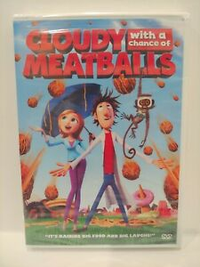 Cloudy with a Chance of Meatballs (DVD, 2009) NEW Sealed FREE Shipping