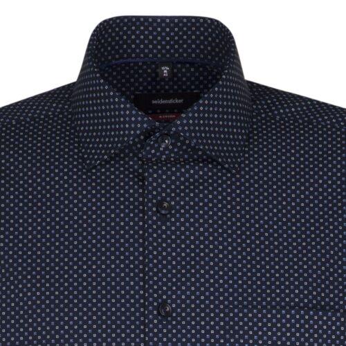 Seidensticker Herren Langarm Business Hemd Herrenhemd Modern Kent Divers 03