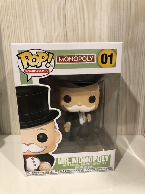 Board Games Mr Monopoly Funko Pop Vinyl