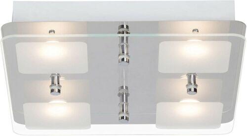 LED Deckenleuchte Brilliant Mountain G11435//15 Wohnraumlampe 4x5 Watt Alu