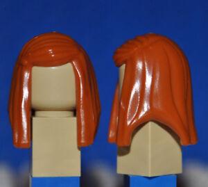 Men Boys Lego Dark Orange Minifigure Hair Wig X1 For Male