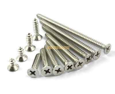 600 M2*4mm 304 Stainless Steel Phillips Countersunk Head Self Tapping Screw