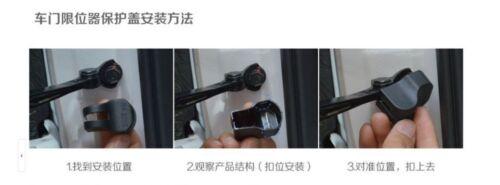 Car Door Stop Rust waterproof protector cover for Ford EcoSport 4pcs