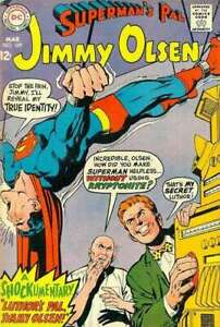 Superman-039-s-Pal-Jimmy-Olsen-1954-series-109-in-VG-condition-DC-comics-xp