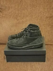 hot sale online 0ac86 d4e33 Details about Mens Nike Air Jordan 2 Retro Decon Black Athletic Shoes  897521-010 Sz 11 DS