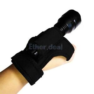 Hand frei Halter Handschuh für Taucher Tauchen Unterwasser-Taschenlampe