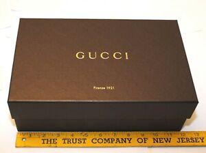 Gucci-Authentic-Brown-Empty-Shoe-Box-12-034-x-8-034-x-5-034