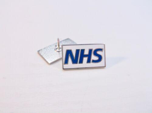 NHS UK NURSE DOCTOR AMBULANCE MEDIC PORTER PARAMEDIC GREEN LINE LAPEL PIN BADGE