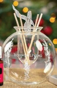 Young Living Essential Oils - 2018 Glass Diffuser Ornament - NEW