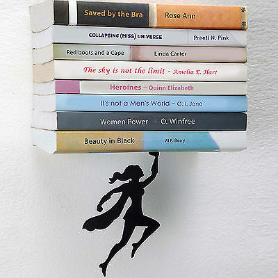 Artori Design Wondershelf Bücherregal schwarz 13 x 16 cm, h 12 cm