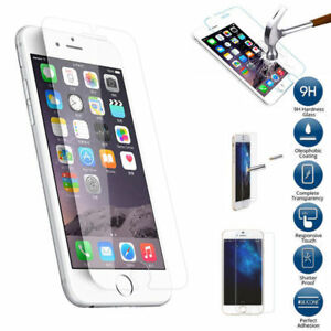 Premium Real Screen Protector Tempered Glass Film For iPhone 6S 7 8 X 11 12 Plus