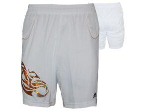 Adidas-Predator-lion-Climacool-Short-Blanc-Sport-Fitness-Training-Pantalon-Taille-S