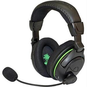 35228e0e4f9 Turtle Beach Ear Force X32 Black/Green Headband Headsets for Microsoft Xbox  360