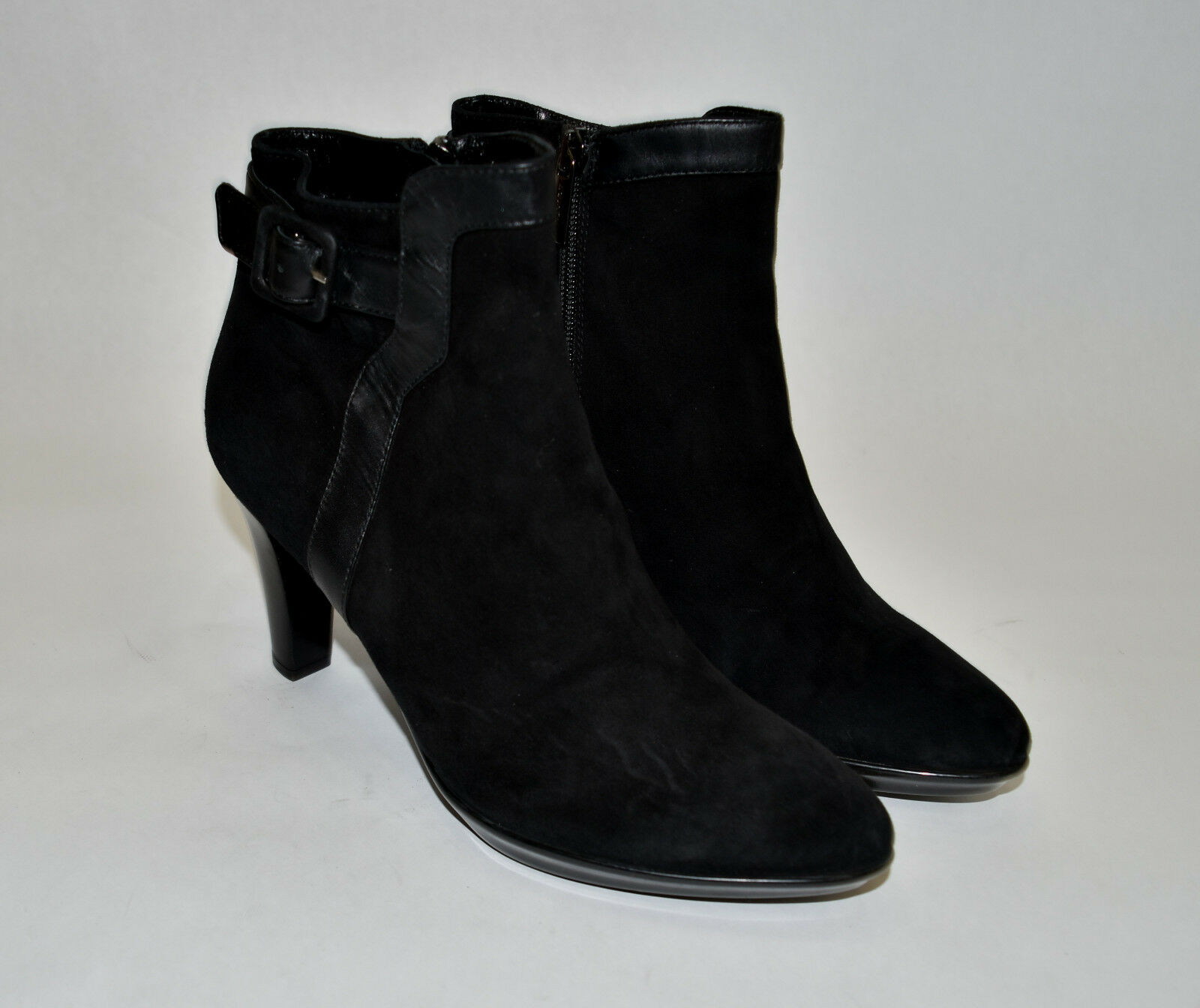 New! Aquatalia by Marvin K 'Rae' Bootie  Black Suede Size 10M