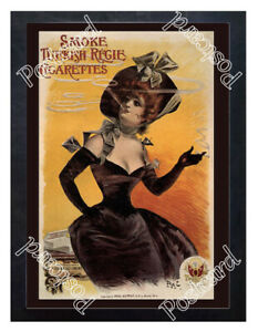 Historic-Turkish-Regie-Cigarettes-Advertising-Postcard