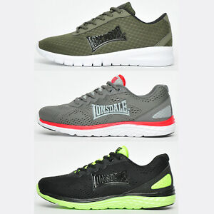 Lonsdale Mens Running Shoes Fitness Gym Workout Trainers ALL £14.99 FREE P&P