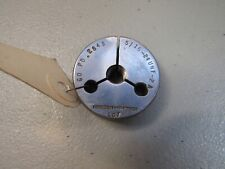 Hanson Whitney Lg 7 Machinist Thread Ring Gauge 516 24 Unf 2a Go Only Pd 2843