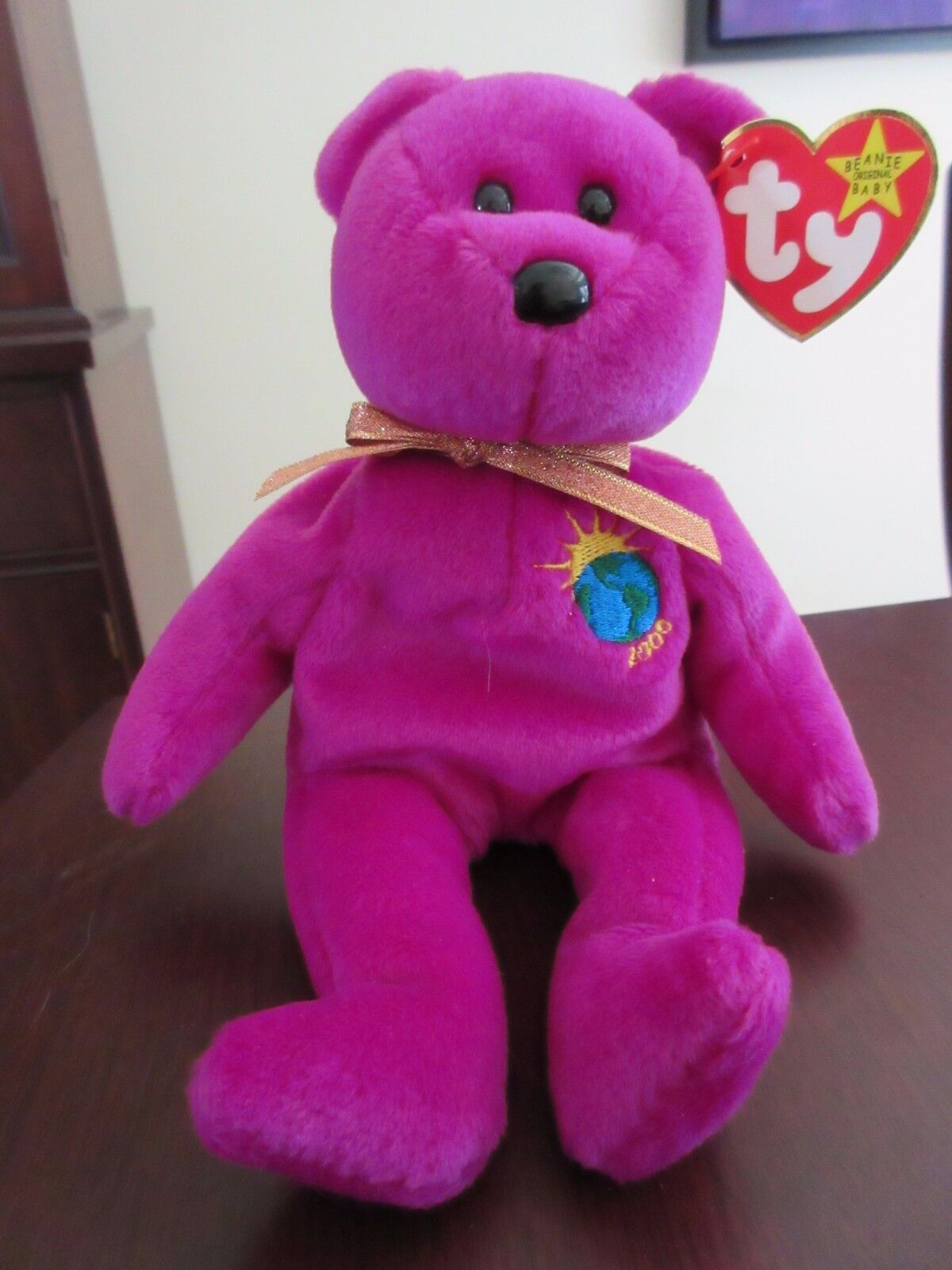 Millenium TY Beanie Baby rare with errors misspelled mint condition