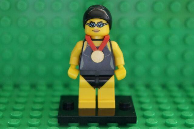 LEGO MINIFIGURE SERIES 7 No 1 - SWIMMING CHAMPION - BRAND NEW-