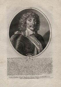 Jean-Baptiste-Budes-de-Guebriant-marshal-Wolffenbuettel-Portrait-Kupferstich