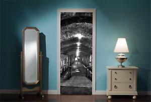 Door-Mural-Wine-Cellar-View-Wall-Stickers-Decal-Wallpaper-91