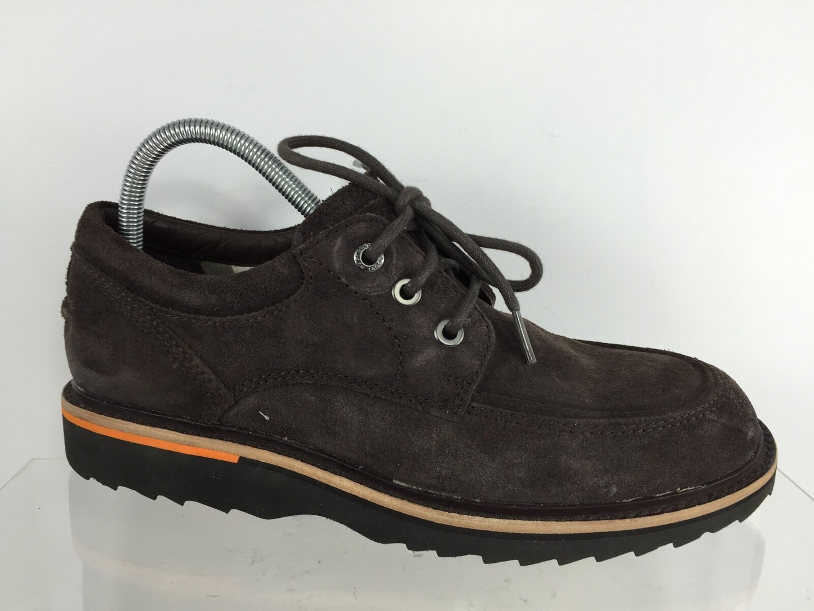 Rockport Mens Dark Brown Shoes Leather Shoes Brown 7 d24144