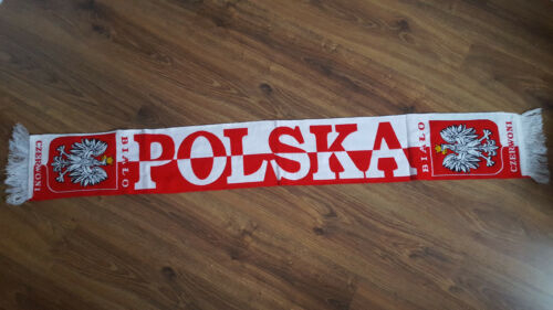 alta qualità!!! Polska szalik Polonia Sciarpa