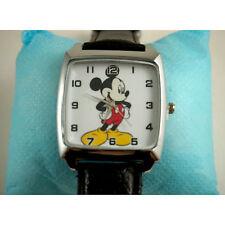 HOT Mickey Mouse Quartz Steel Wrist Watch Wristwatch Fashion Boy Man FREE SHIP