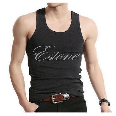 Fashion Mens Boys Tank Top Muscle Sleeveless T-shirts Sportwear Vest Undershirts