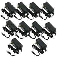 10 X 12v 1a Ac Adapter Power Supply For Cctv Camera