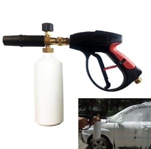 Details About 1 4 High Pressure Washer Gun Snow Foam Lance Cannon Foam Blaster Car Wash Soap