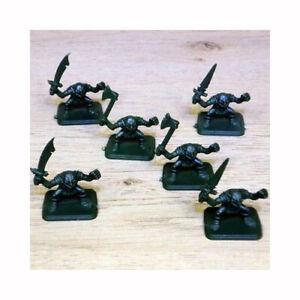 Heroquest-Goblins-x-6-Full-Set-MB-Games-Workshop-D-amp-D-Warhammer