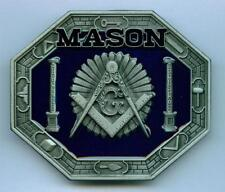 Gürtelschnalle Buckle Freimaurer Freemansory  Mason Masonic