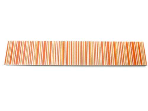 Fliesen Bordüren 24,8x4,3 cm Wandbordüre Badbordüre Concept orange gelb weiß